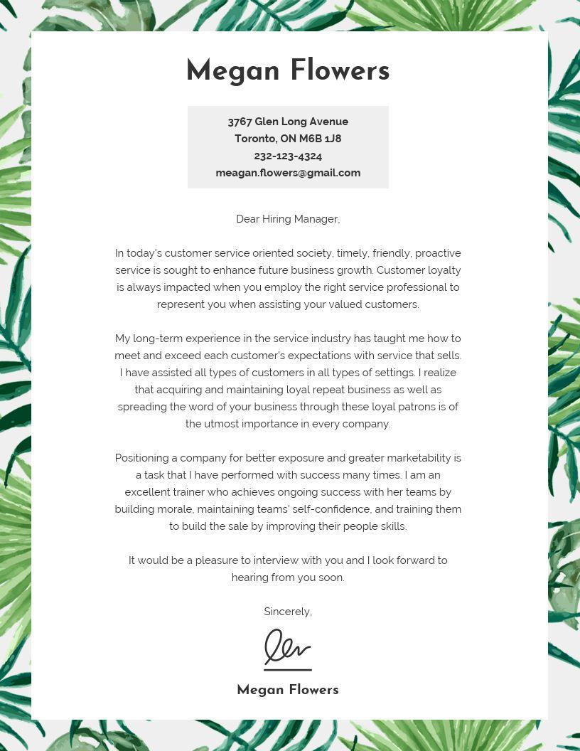 3 Basic Cover Letter Designs in 2020   Cover letter ...
