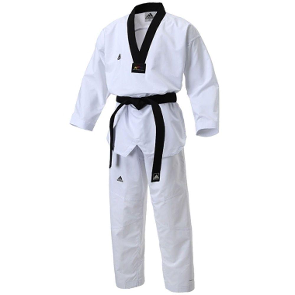 Adidas Poomsae WTF Dan Uniform Male Taekwondo Dobok TKD Male Tae Kwon Do