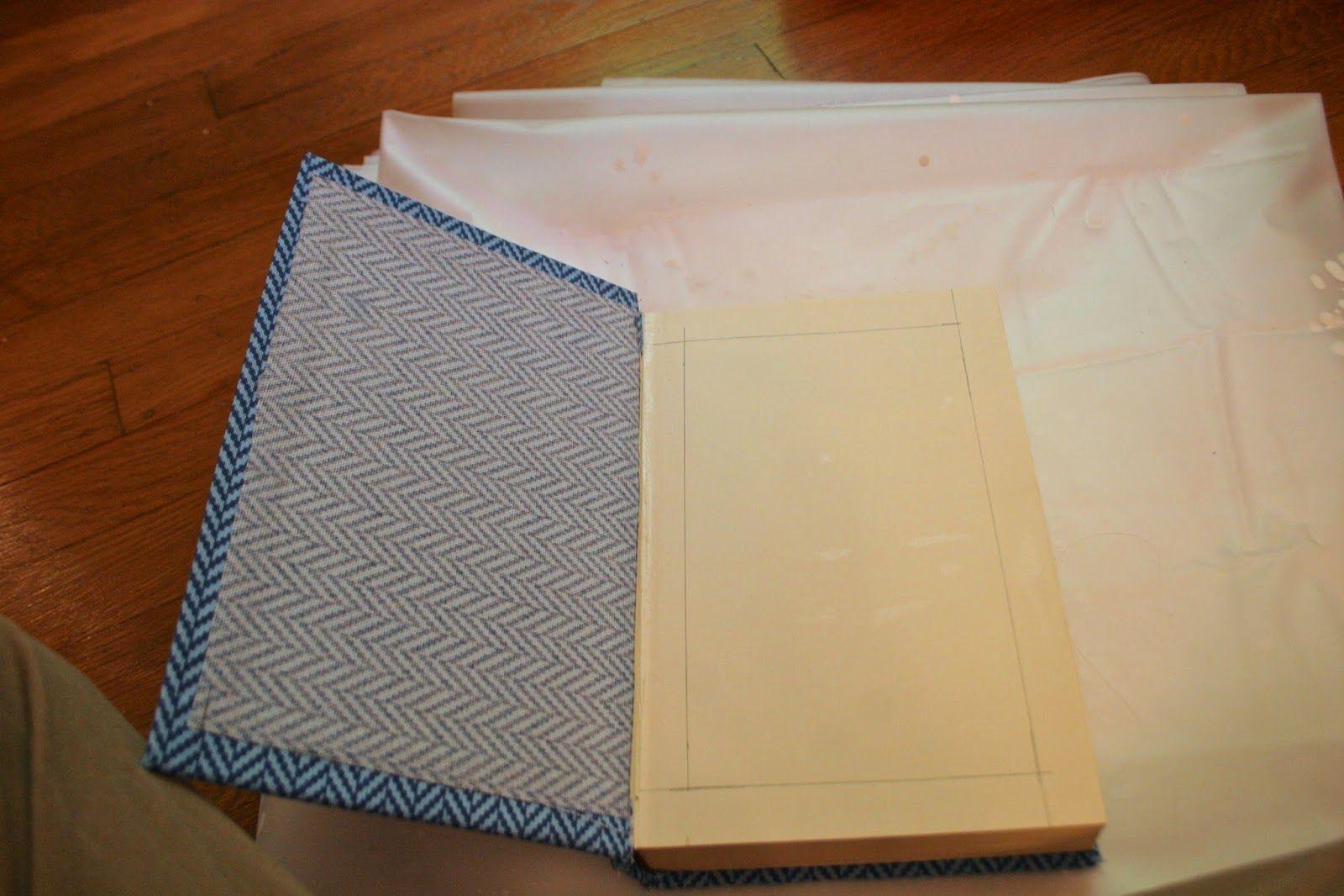 Homemade Book Clutch