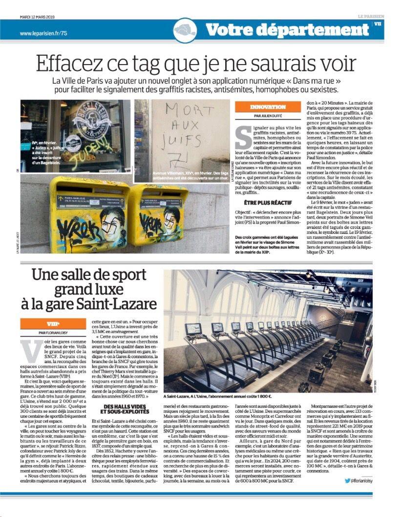 Idee Par Laurent Guyot Co Sur L Usine Salle De Sport Paris