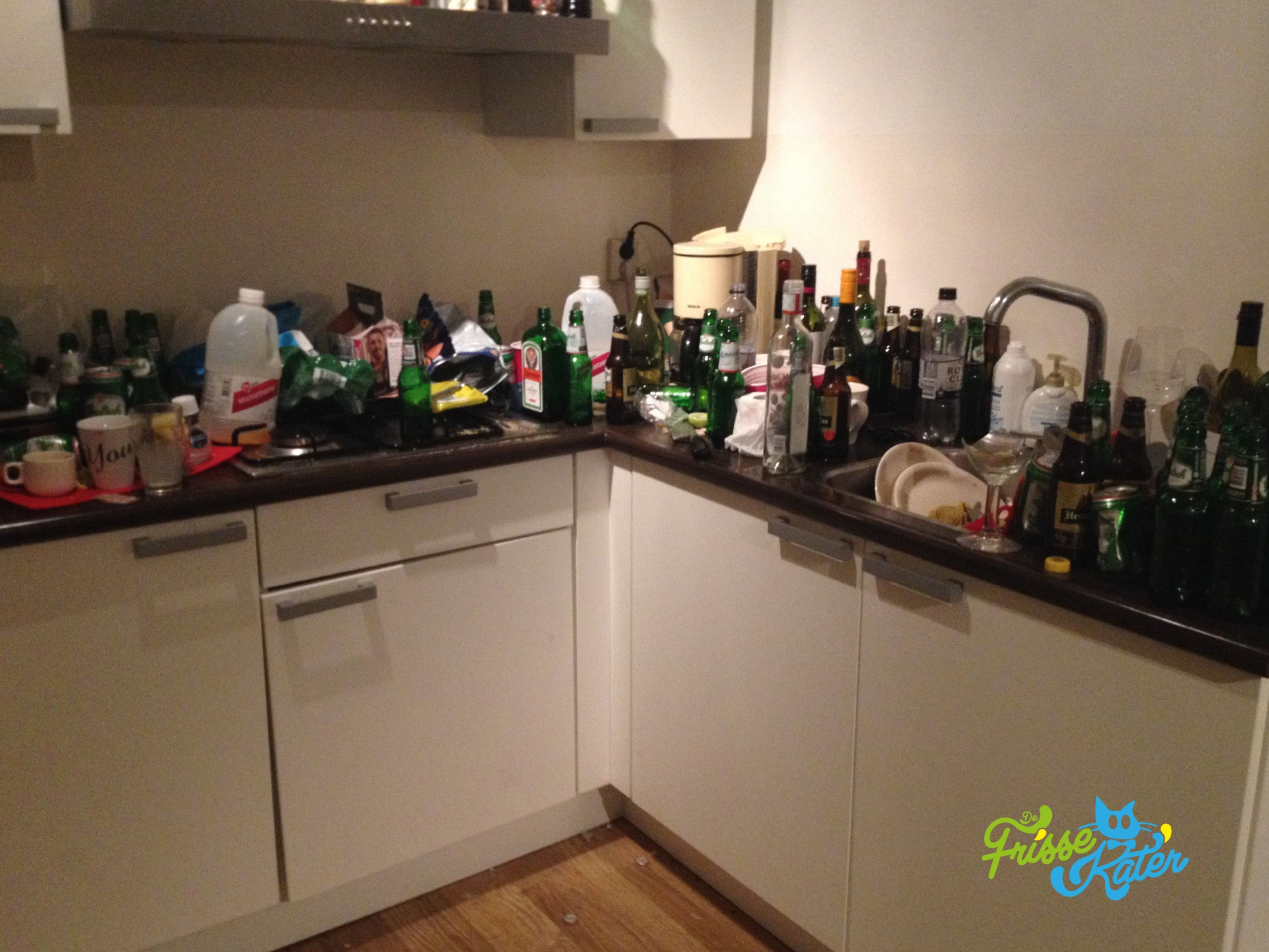 After-party cleaning of a kitchen. | After Party Cleaning ...