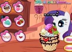 Juegosmylittlepony Es Juego Helados My Little Pony Jugar Online