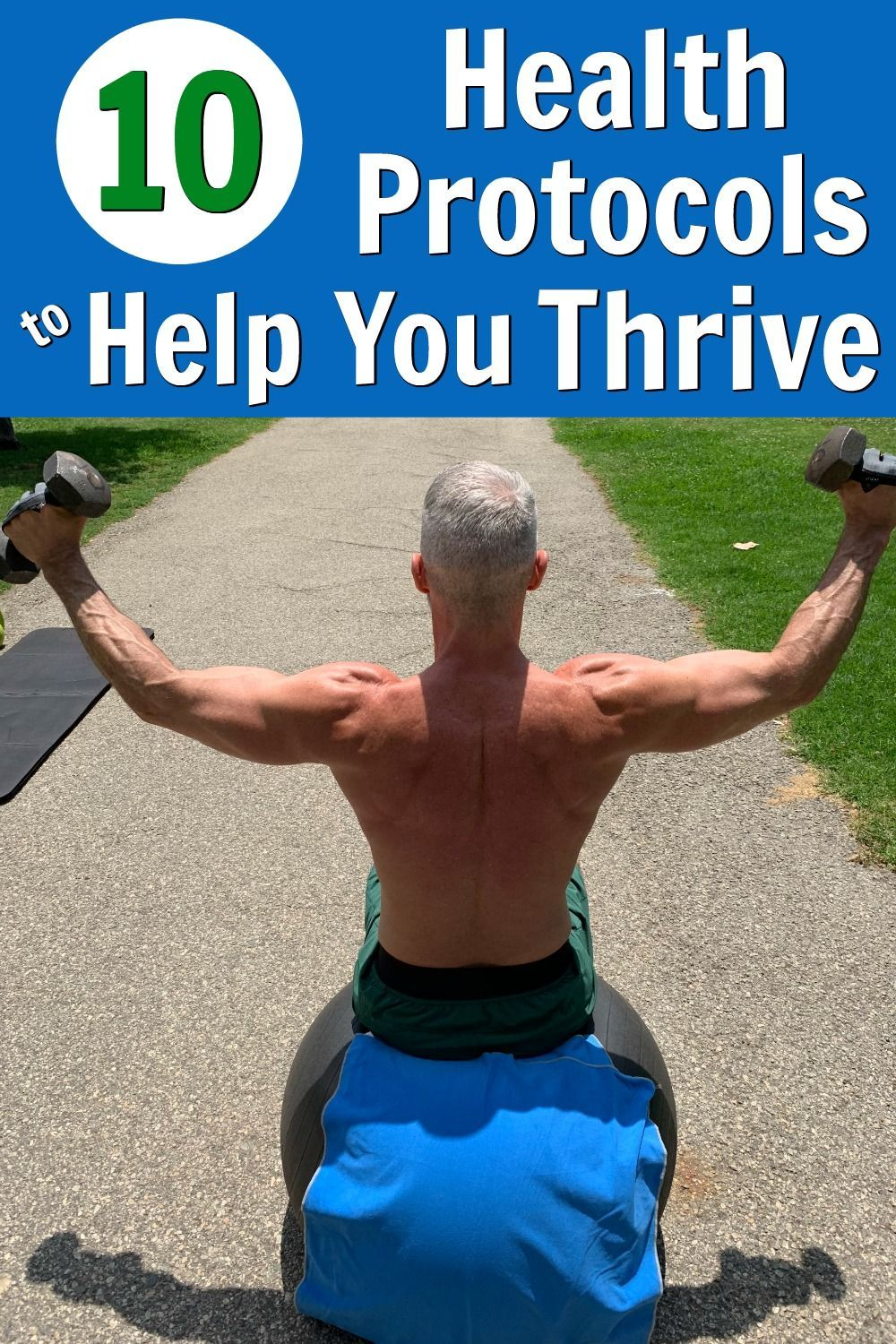 Click-through to see all 10 health protocols that people over the age of 50 can do to thrive. #healt...