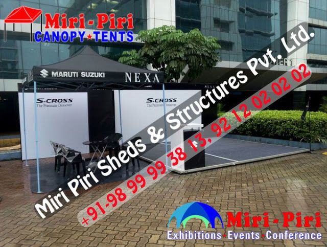 Manufacturers & Suppliers of Canopy Tents, Stalls, Kiosk
