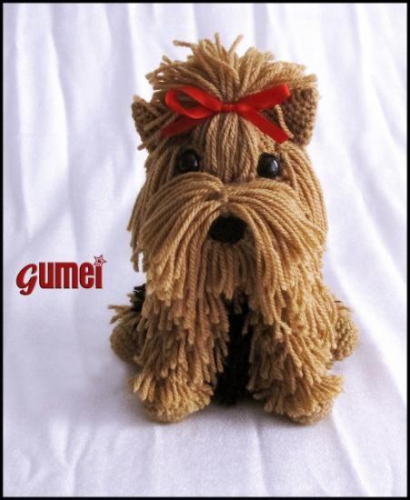 Amigurumi Yorkshire Terrier 'YORKIE'- Free Crochet Pattern ... | 550x451