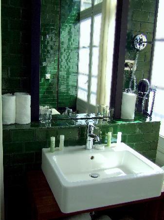 Azulejos cerámicos coleccion monocolores verde botella estancias ...