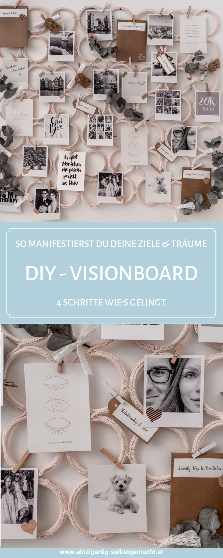 Vision Board erstellen - Anleitung & Tipps zum Visualisieren deiner Träume