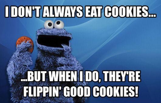 Yeah Monster Cookies Cookie Monster Images Beer Commercials