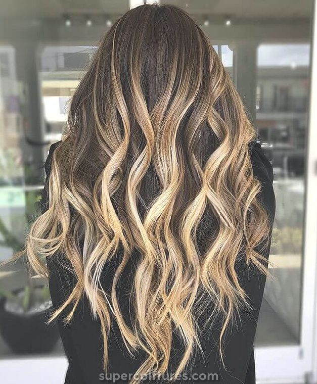 50 cheveux bruns flatteurs avec reflets blonds pour inspirer votre prochaine coiffure » Supercoiffures.com