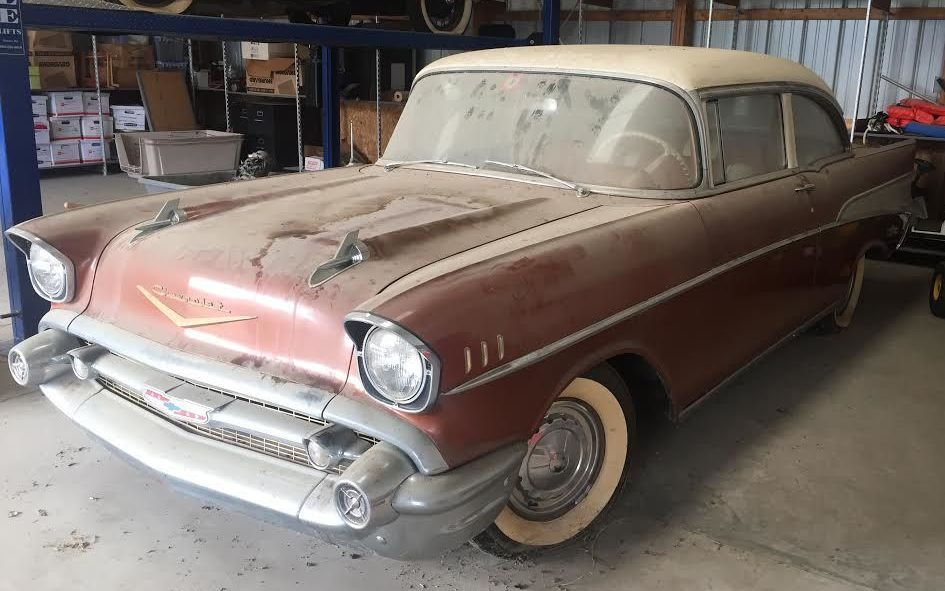 1957 Chevrolet Bel Air Barn Find - http://barnfinds.com/1957-chevrolet-bel-air-barn-find/