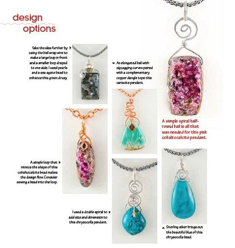 Book Review - Build Your Own Wire Pendants - The Beading Gem\'s ...