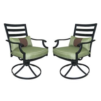 kohls 75.00 sonoma outdoors 2-pc. providence swivel rocking chair