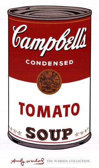 Campbells Tomato Soup Andy Warhol Andy Warhol Art Andy Warhol Warhol
