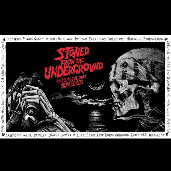 Elvisdead - Stoned From The Underground Fest 2013