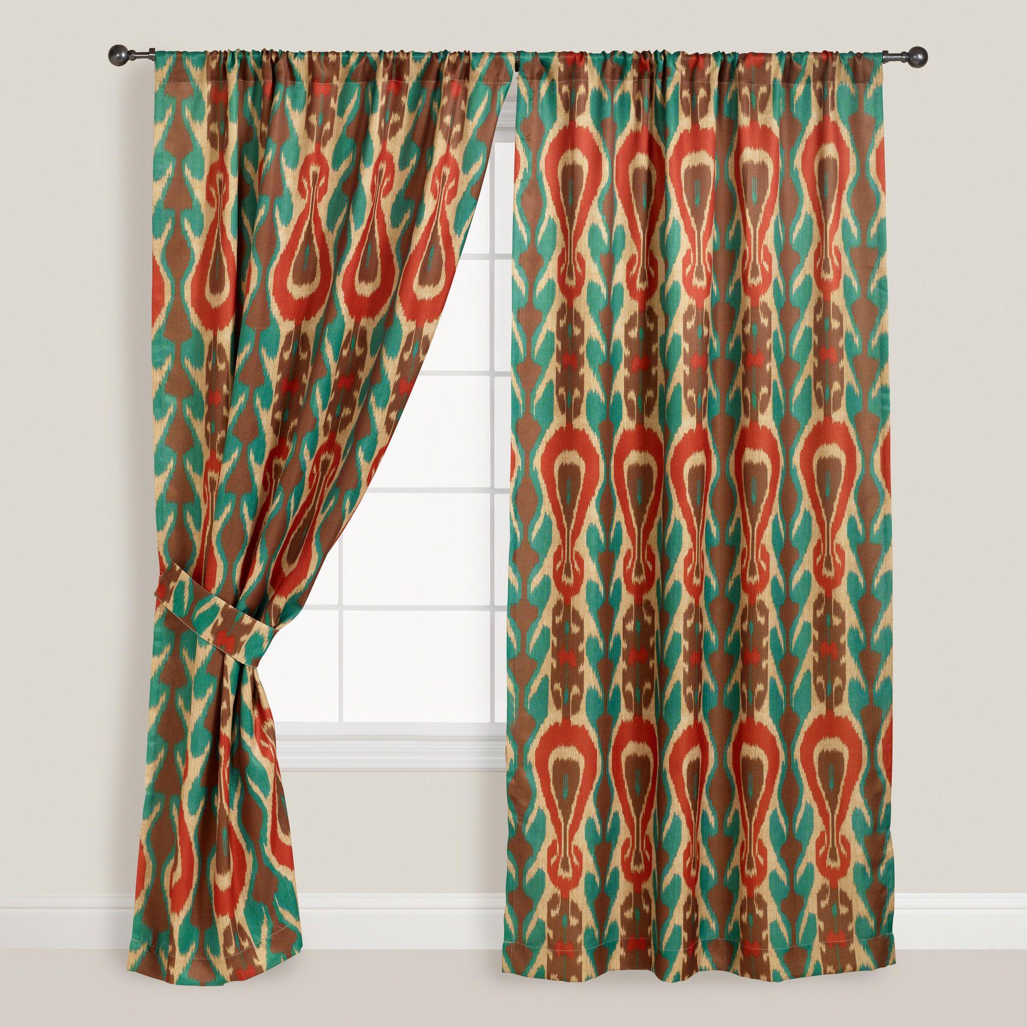 Amazing Diva Ikat Curtain | World Market