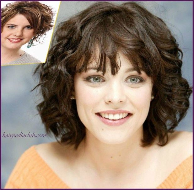 5 Short Haircuts For Curly Hair And Round Faces Curly Faces Hair Haircuts Round S Short Hair Styles For Round Faces Thick Frizzy Hair Short Wavy Hair