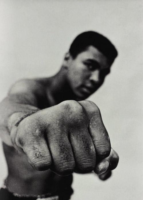 Cassius Clay a.k.a Muhammad Ali