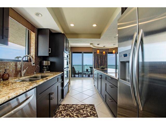 Traditional Galley Kitchen - Marco Island, Florida | Kitchen | Pinterest