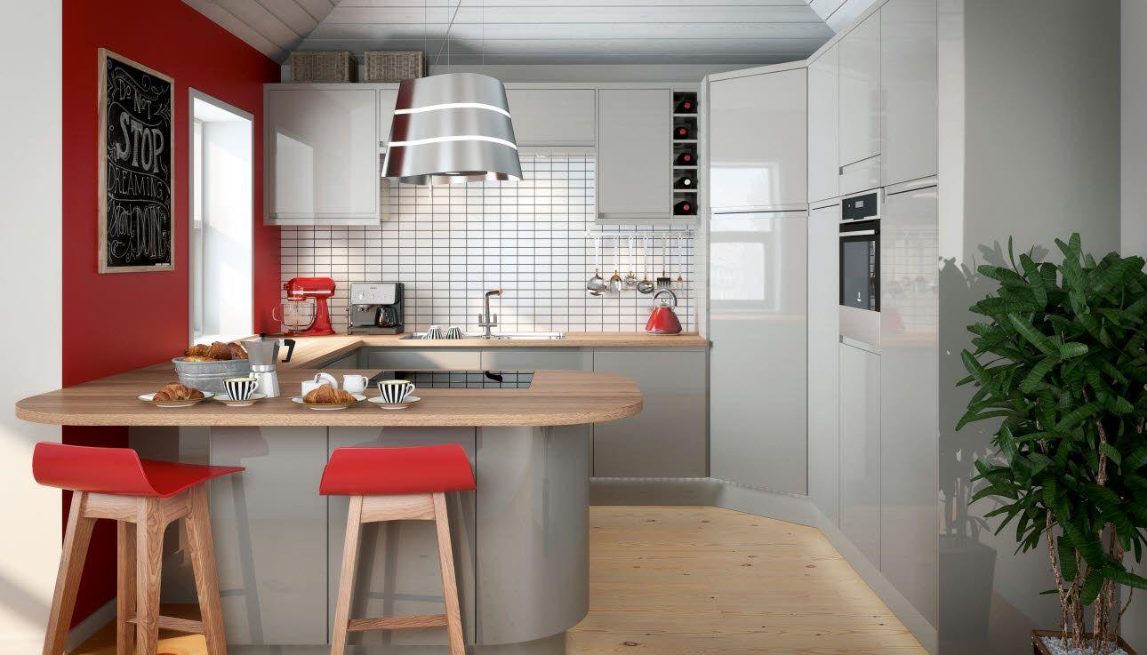 Planar Grey_Main Contemporary kitchen, Kitchen