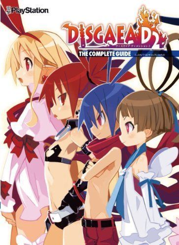Dimension 2 The Complete Guide Book Hour of Darkness D2 JAPAN Disgaea