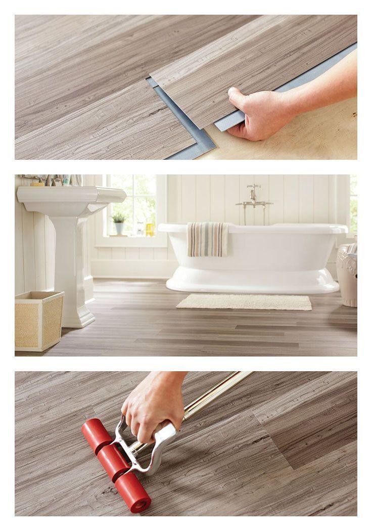 Get The Warm Look Of Wood Flooring But With The Waterresistance - Buy vinyl plank flooring online