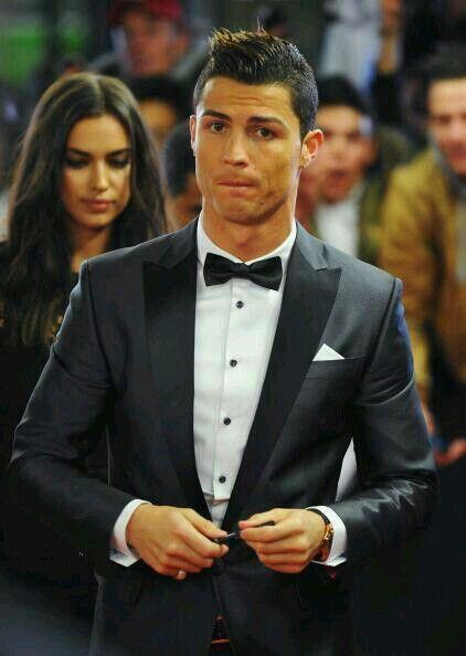 Cristiano Ronaldo Gala Balon De Oro Realmadrid Novia Girlfriend