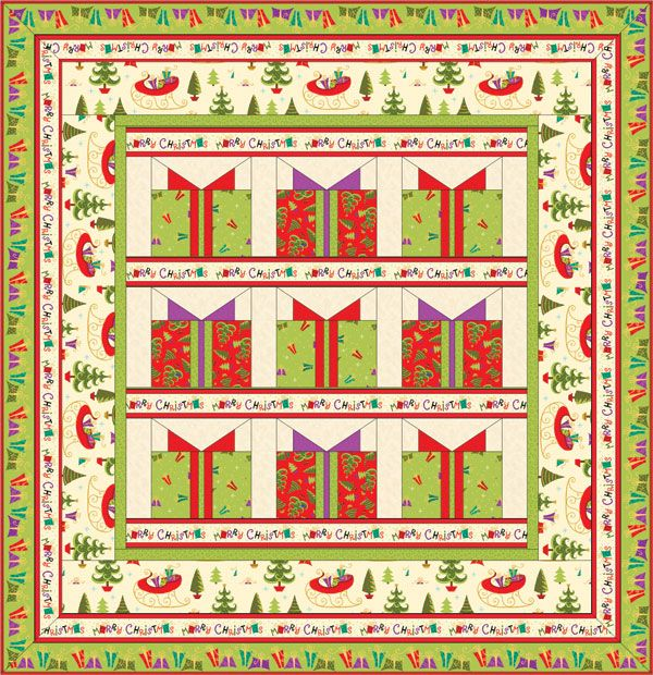 FREE PATTERN: Holiday Cheer | Christmas quilt patterns, Quilt ... : christmas quilting patterns free - Adamdwight.com