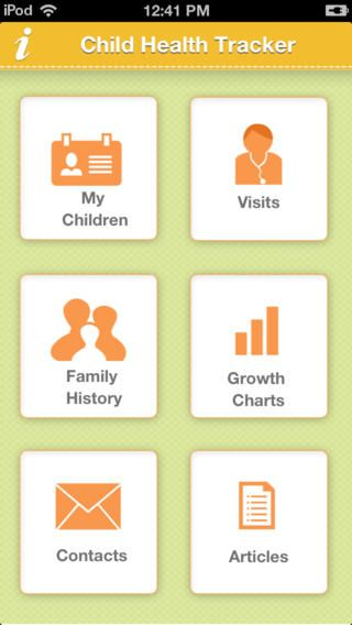 Child Health Tracker app - Child Health Tracker gives you ...