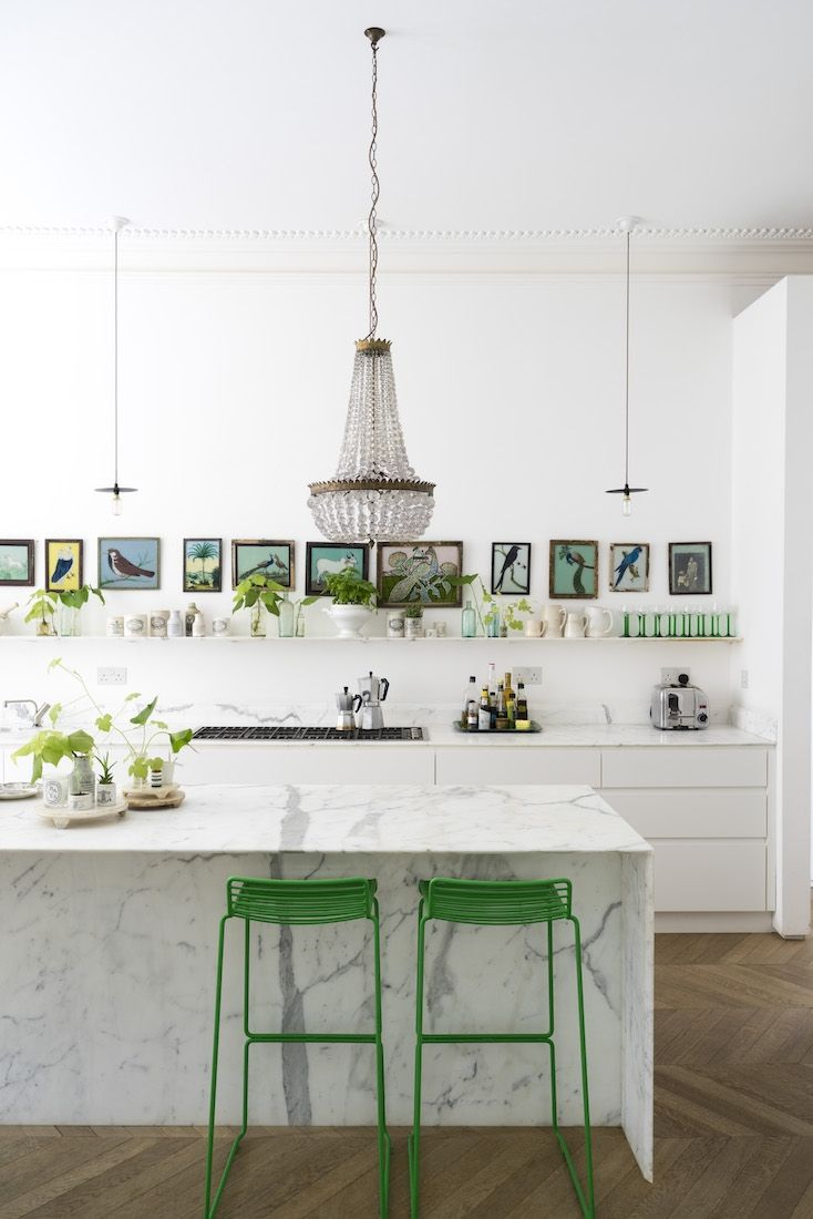 A luminous Victorian home filled with plants in London | Küche, Die ...