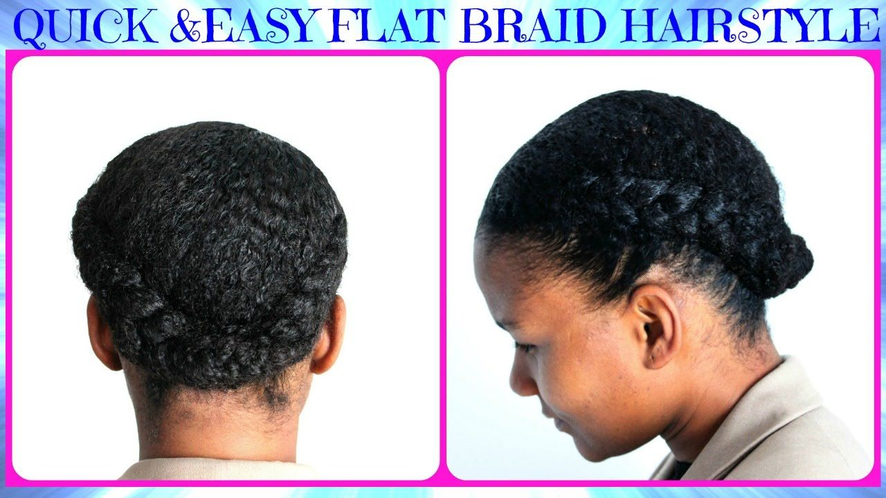 Stupendous Cute Flats Natural Hairstyles And Natural Hair On Pinterest Hairstyles For Men Maxibearus