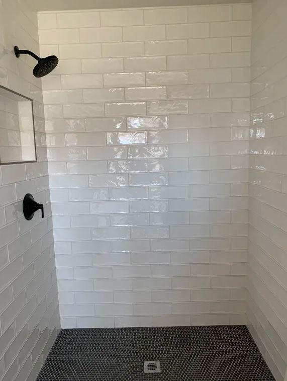 subway tile bathroom remodel shower