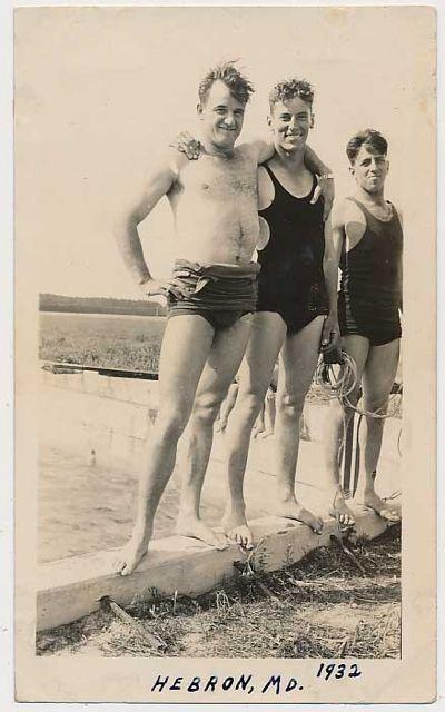 Gay Trio At The Beach