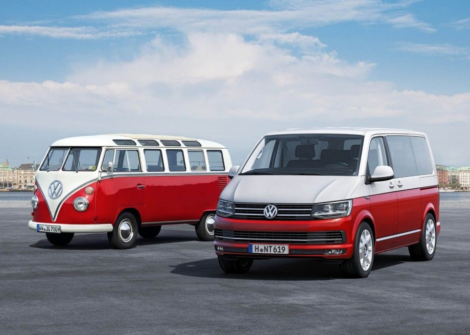 The New 2016 Vw Transporter Van Is Here With A Smartened Up Exterior Features And Completely Generation Of Tdi Sel Engines