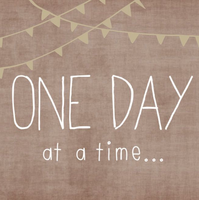One Day At A Time Quote Quotes Cancer One Day Quotes
