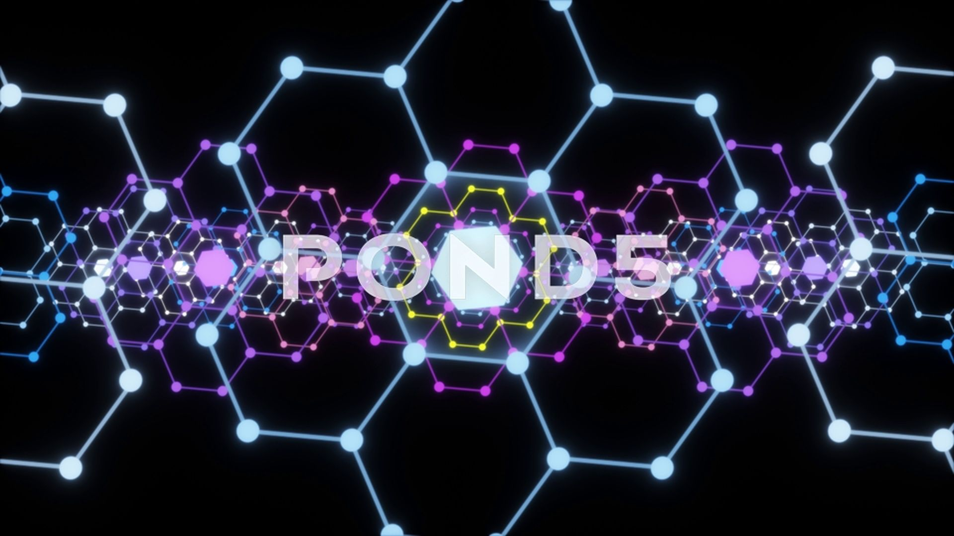 Abstract shape and transparent background, hexagon, alpha
