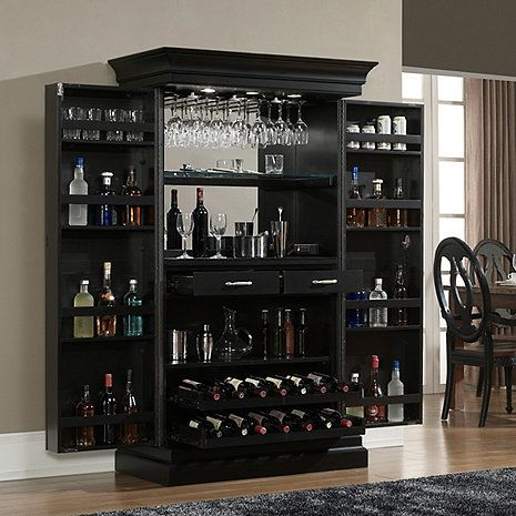Angelina Black Bar At Wine Enthusiast 1 895 00 Bars For Home