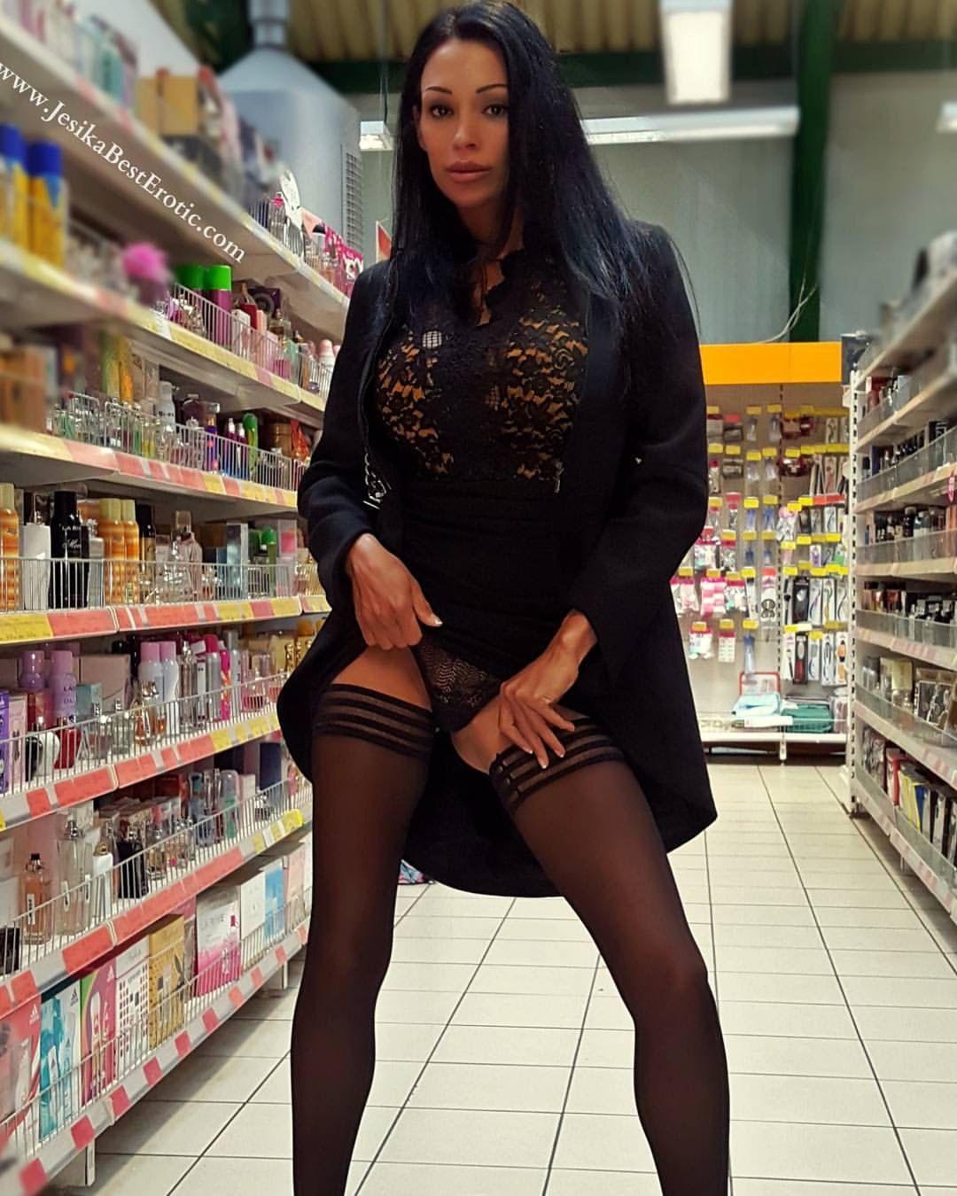 Einkaufen frivol Lieb, frech