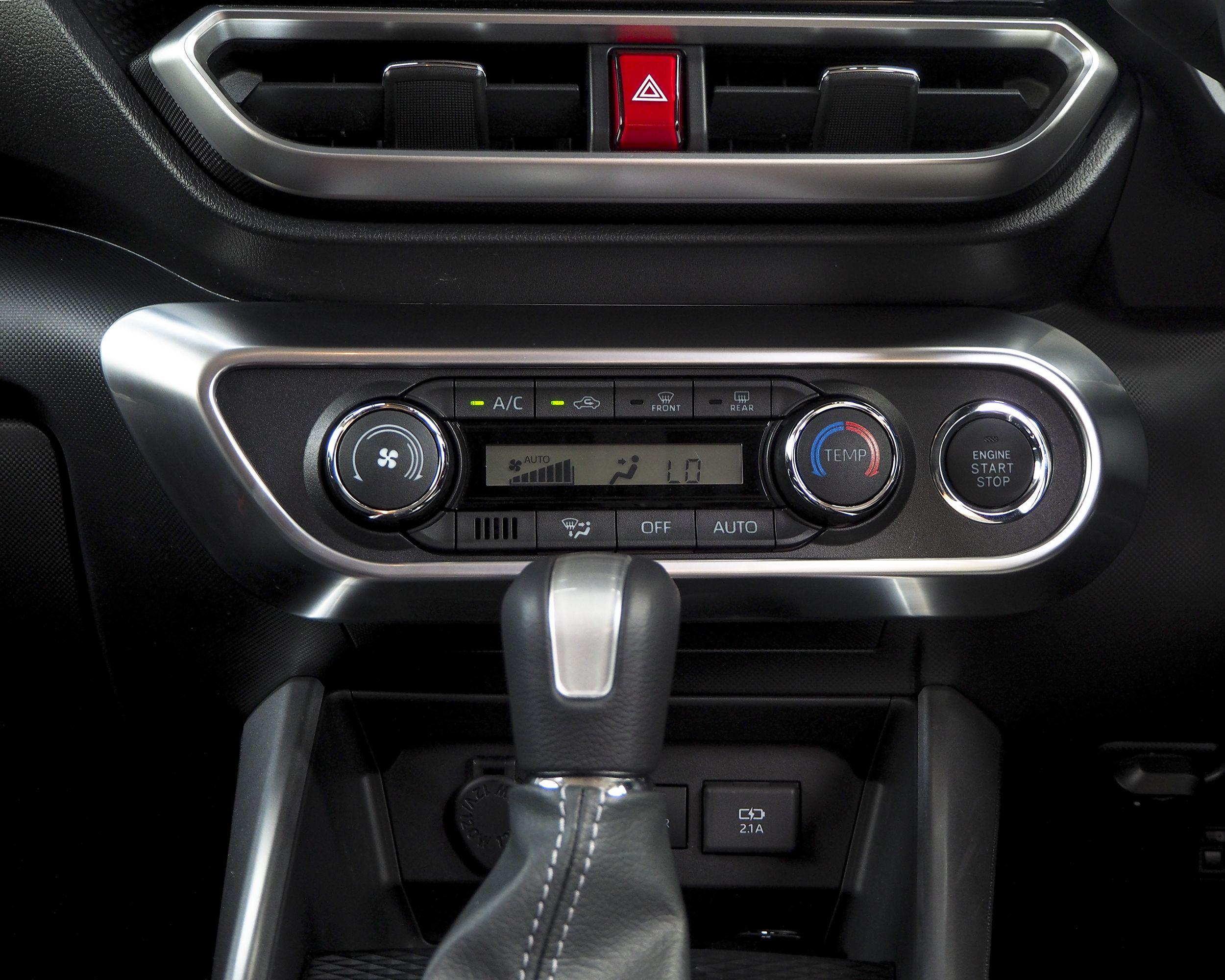 ライズ ロッキー エアコンスイッチパネル 1p Toyota Raize Daihatsu Rocky トヨタ ダイハツ A200a A210a ライズ ダイハツ インテリア パネル