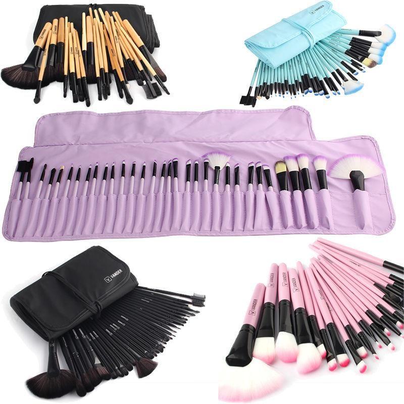 Photo of VANDER Soft Makeup Brushes Set 32 PCS Multi-Color Wood Handle
