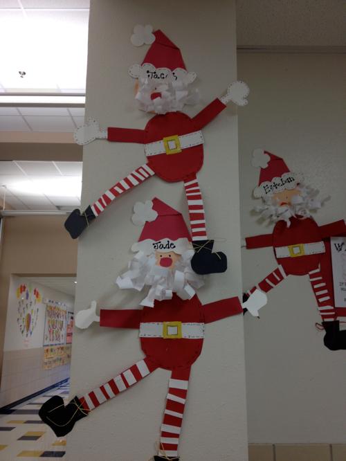 Definitely making these Santa's next year!! | Christmas kindergarten