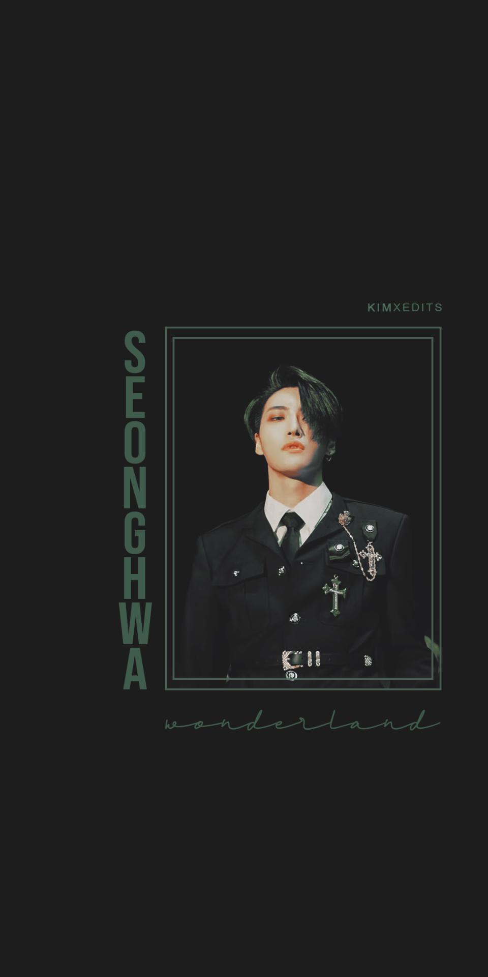 Ateez Seonghwa Wonderland Wallpaper ateez seonghwa