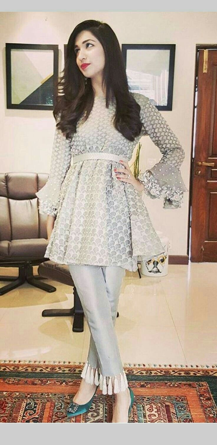 Pinterest: @cutipieanu | Frock design, Pakistani dress design, Frock fashion