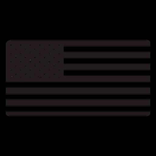 American Flag Black Ad Ad Ad Black Flag American American Flag Background Design Flag