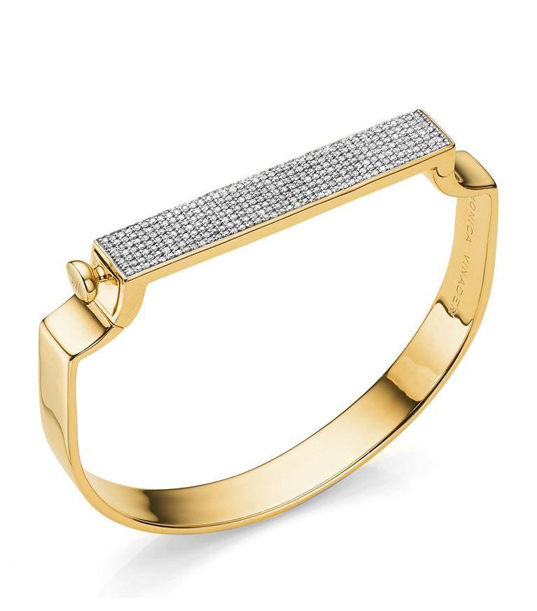 Rose Gold Signature Diamond Ring Diamond Monica Vinader LwonC