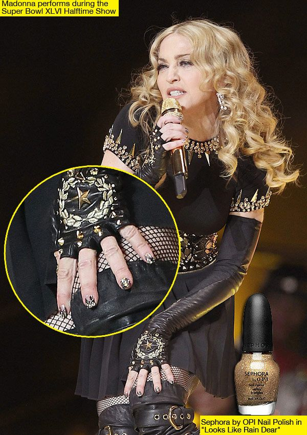 dig the nails but love the hair #goddesscurls #madonna