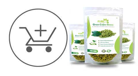 Simply Herbal Pure Green Coffee Beans With Fortified Antioxidant