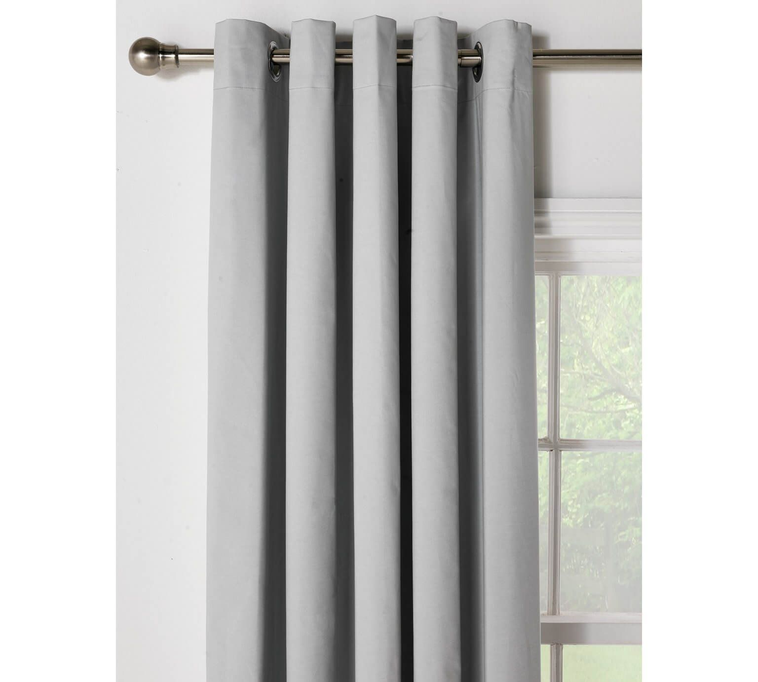 Buy home blackout thermal curtains xcm dove grey at argos