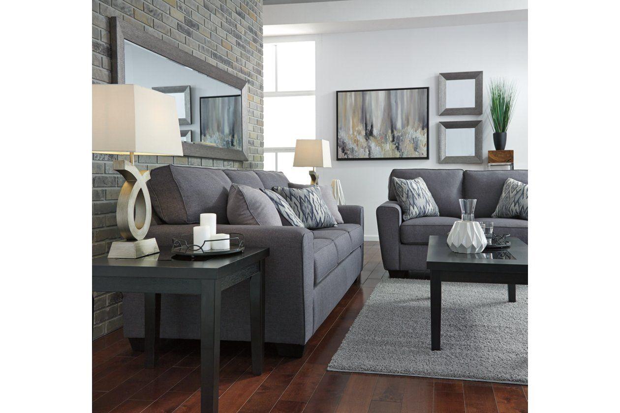 Calion Loveseat Ashley Furniture Homestore Grey Sofa Living Room Living Room Decor Gray Simple Sofa