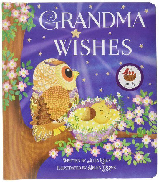 Books For Grandma For Christmas 2020 Grandma Wishes: Children's Board Book (Love You Always) in 2020