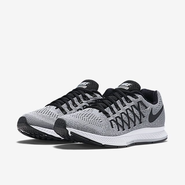 Shop Women's Nike size 6 Sneakers at a discounted price at Poshmark.  Description: Nike Zoom Pegasus 32 - pure platinum/black-dark grey Gently  used - minor ...